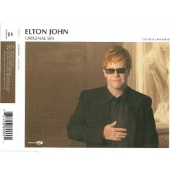 Elton John ‎- Original Sin - CD Maxi Single