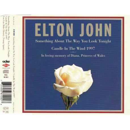Elton John - Something About The Way You Look Tonight / Candle In The Wind 1997 - CD Maxi Single