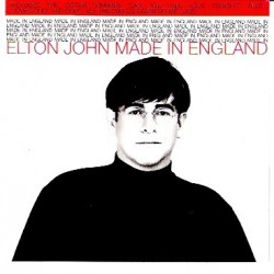 Elton John ‎- Made In England - CD Maxi Single
