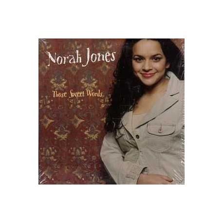 Norah Jones - Those Sweet Words - CD Single Promo