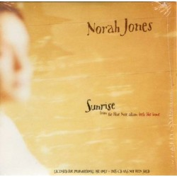 Norah Jones ‎- Sunrise - CD Single Promo