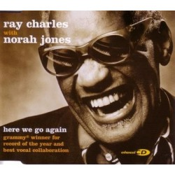 Ray Charles With Norah Jones ‎- Here We Go Again - CD Maxi Single
