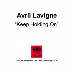 Avril Lavigne ‎- Keep Holding On - CDr Single Promo