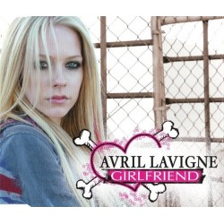 Avril Lavigne ‎- Girlfriend - CD Maxi Single Promo