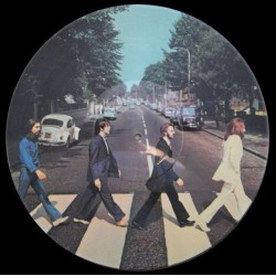 The Beatles ‎– Abbey Road - LP Vinyl Picture Disc
