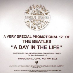 The Beatles - A Day In The Life - Maxi Vinyl Promo