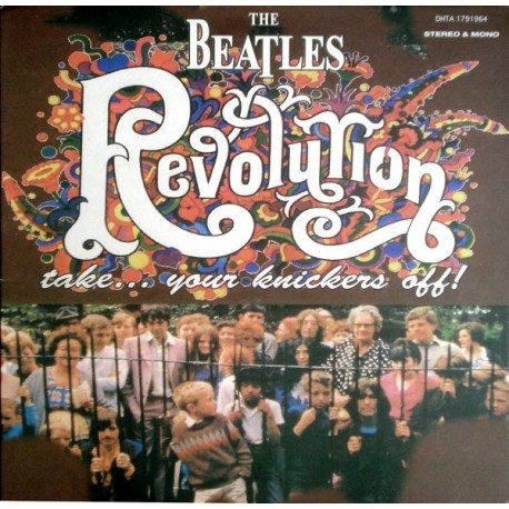 The Beatles - Revolution Take Your Knickers Off - LP Vinyl Coloured