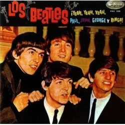 Los Beatles - ¡Yeah Yeah Yeah, Paul, John, George Y Ringo! - LP Vinyl Coloured Red