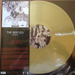 The Beatles - Revolver - LP Vinyl - Coloured Gold