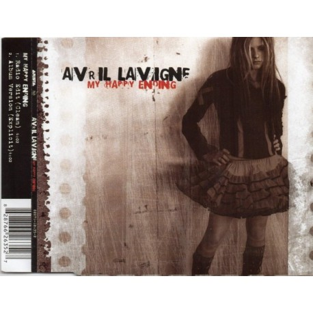 Avril Lavigne - My Happy Ending - CD Maxi Single Promo