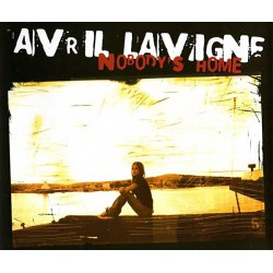 Avril Lavigne ‎- Nobody's Home - CD Maxi Single Promo