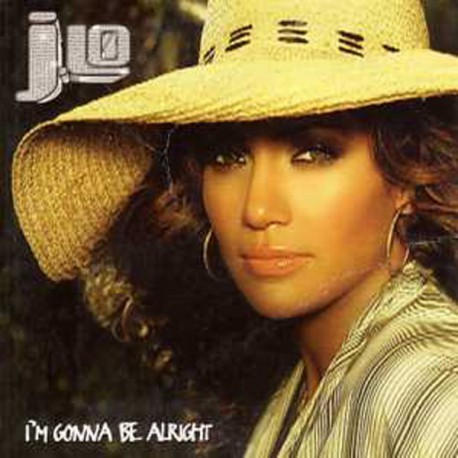 Jennifer Lopez -  J.Lo - I'm Gonna Be Alright - CD Single