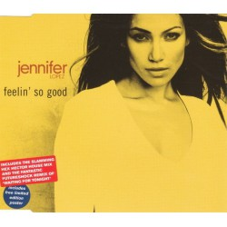Jennifer Lopez ‎- Feelin' So Good - CD Maxi Single + Poster
