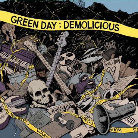 Green Day ‎– Demolicious Double LP Vinyl Record Store Day