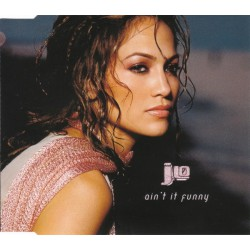 Jennifer Lopez ‎- Ain't It Funny - CD Maxi Single