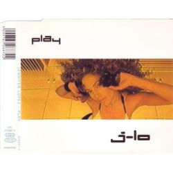 Jennifer Lopez -  J-Lo - Play - CD Maxi Single