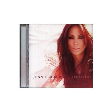 Jennifer Lopez - Qué Hiciste - CD Maxi Single Promo