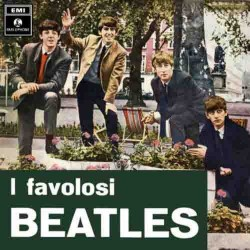 The Beatles - I Favolosi Beatles - LP Vinyl - Coloured Blue