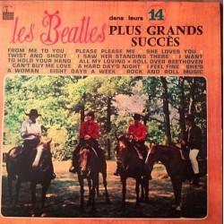 The Beatles - Dans Leurs 14 Plus Grands Succes - LP Vinyl Coloured Blue