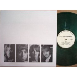 The Beatles - White Unplugged Album - LP Vinyl Coloured Green