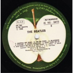 The Beatles - White Album - Double LP Vinyl - Pressage Italie