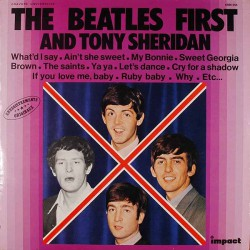 The Beatles and Tony Sheridan ‎- First - LP Vinyl