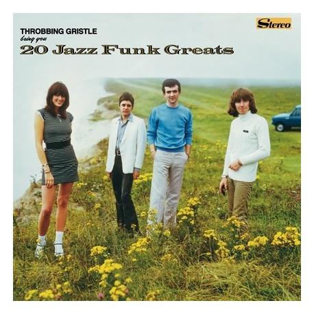 Throbbing Gristle – 20 Jazz Funk Greats LP Vinyl