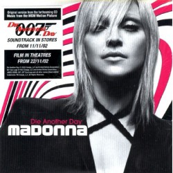 Madonna - Die Another Day - CD Single