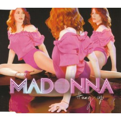 Madonna ‎- Hung Up - CD Maxi Single