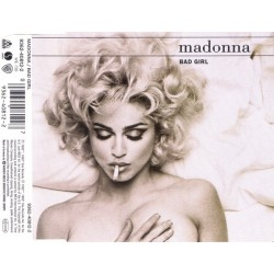 Madonna ‎- Bad Girl - CD Maxi Single