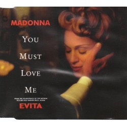 Madonna ‎- You Must Love Me - CD Maxi Single