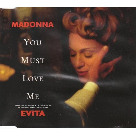Madonna - You Must Love Me - CD Maxi Single