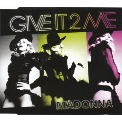 Madonna ‎- Give It 2 Me - CD Maxi Single