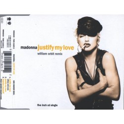 Madonna ‎- Justify My Love - CD Maxi Single