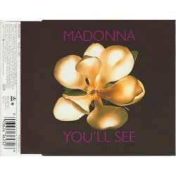 Madonna ‎- You'll See - CD Maxi Single