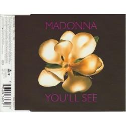 Madonna - You'll See - CD Maxi Single