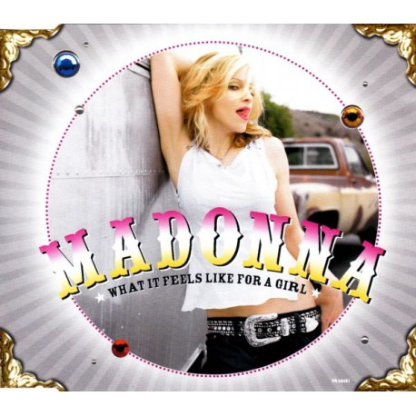 Madonna ‎- What It Feels Like For A Girl - CD Maxi Single Promo