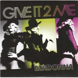 Madonna ‎- Give It 2 Me - CD Single