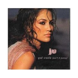 Jennifer Lopez ‎-  Qué Ironía (Ain't It Funny) - CD Single Promo