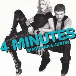 Madonna & Justin Timberlake - 4 Minutes - CD Single