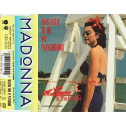 Madonna - This Used To Be My Playground - CD Maxi Single