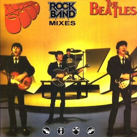 The Beatles - Rubber Soul Rock Band Mixes - LP Vinyl Coloured Blue