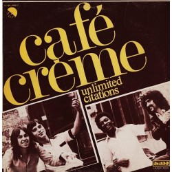 Café Crème ‎- Citations Ininterrompues - Maxi Vinyl