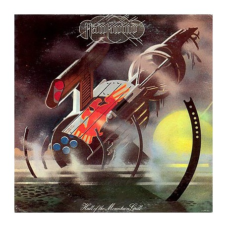 Hawkwind ‎– Hall Of The Mountain Grill LP Vinyl 1974 France