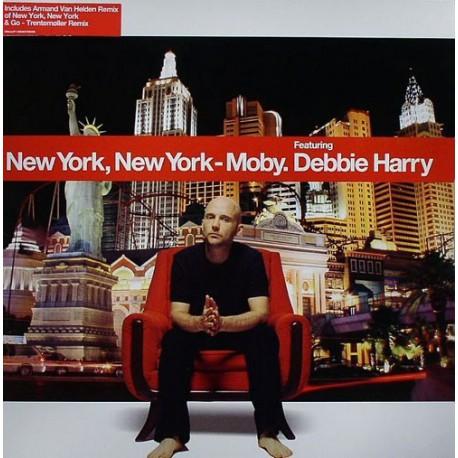 Moby feat. Debbie Harry (Blondie) - New York, New York - Maxi Vinyl