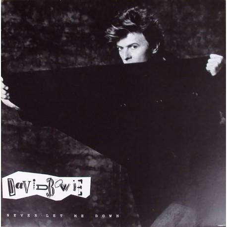 David Bowie - Never Let Me Down - Maxi Vinyl Promo