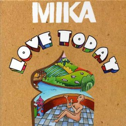 Mika - Love Today - CD Single Promo