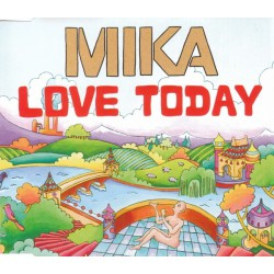 Mika - Love Today - CD Maxi Single