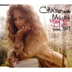 Christina Milian Featuring Young Jeezy ‎- Say I - CD Maxi Single
