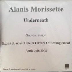 Alanis Morissette ‎- Underneath - CDr Single Promo